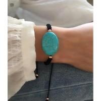 Serpil Jewellery Firuze Doğaltaşlı Ipli Bileklik