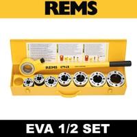 Rems 520017 Eva 1/2'' - Set Pafta