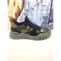 Valentıno Garavanı Erkek Sneaker Siyah 43