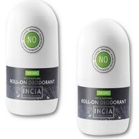 Incia Doğal Roll-On Deodorant Erkekler Için 50 ml 2'li Set
