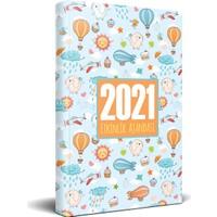 Halk Kitabevi 2021 Gökyüzü Akademik Ajanda 13,5 x 21 cm
