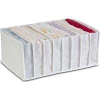 Ophelia's Touch Organizer Cepli Dolap İçi ve Çekmece Düzenleyici Beyaz Organik Medium