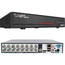 Powermaster PM-19427 6ın1 16 Kanal 1080N Dvr Kayıt Cihazı (5 Mp Destekli) (H265*WİFİ*3G)