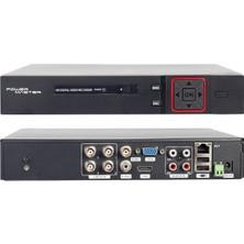 Powermaster PM-12180 1080N H265 4 Kanal Dvr/xvr Kayıt Cihazı Xmeye Video Çıkışlı