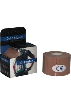 Ortholand Ten Renk Kinesio Bandı, Spor Kas Ağrı 5cm*5mt