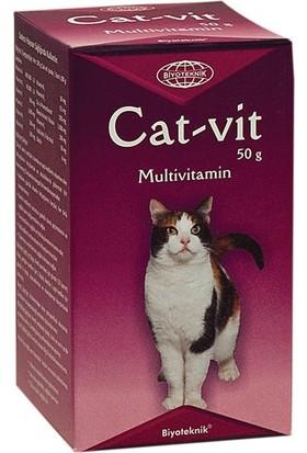 Biyoteknik Cat-Vit Kediler Için Multivitamin