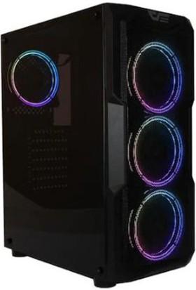 Darkflash Aquarius-Mesh Rgb Mid Tower Kasa (Psu Yok)