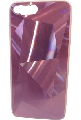 Vefa Apple iPhone 7/8/se Aynalı Prizma Kılıf Pembe