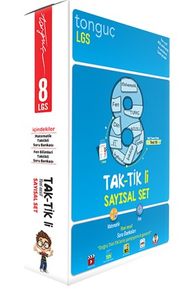 Tonguç Akademi 8. Sınıf Taktikli Soru Bankası ve 3'lü Deneme Seti