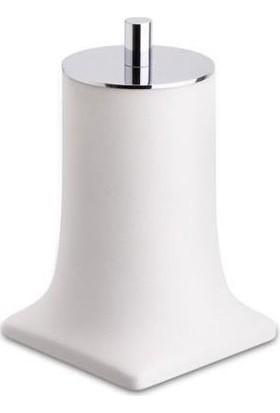 Azm Hırdavat System Tezgah Üstü Beyaz-Krom Pamukluk BA20007 001013 R1-Cr