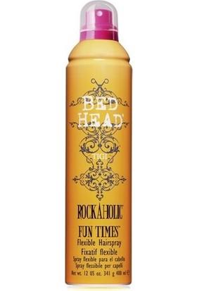 Tigi Bed Head Fun Times Rock A Holic Saçı Sertleştirmeden Şekillendiren Saç Spreyi 400 ml