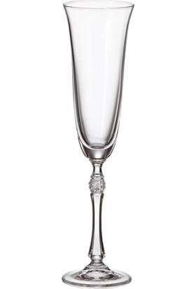 Bohemia Crystal Parus Flute 190 ml Şampanya Bardağı 6'lı