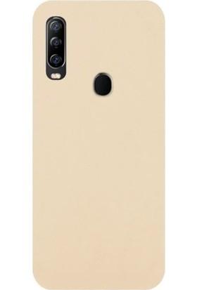 Magazabu General Mobile Gm 20 Pro Kılıf Silikon Premier Soft - Bej