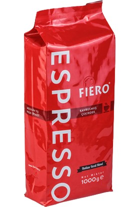 Fiero Espresso Çekirdek Kahve 1 kg