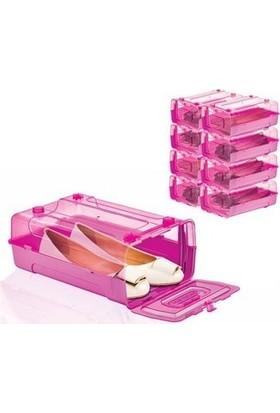 Olux Trend Shoes Box Ayakkabı Kutusu L-487 Pembe