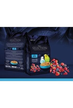 My Yem Myyem Selection Muhabbet Kuşu Yemi (10 Çeşit Gerçek Meyve Parçalı) 1 kg