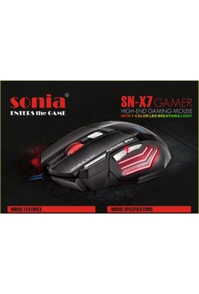 Sonia Mouse Sonia Sn-X7 Oyuncu Mouse