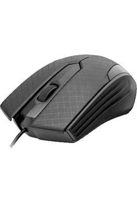 Hadron HR5678 1200 Dpi USB Kablolu Mouse - Siyah