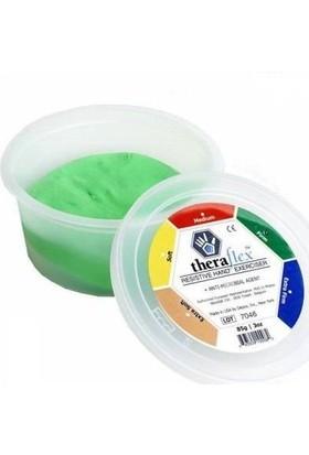 Theraflex El Egzersiz Hamuru Yeşil (Sert)