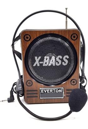Everton RT-830 Bluetooth USB Sd Kart Aux Fm Çalar Radyo + Mikrofon