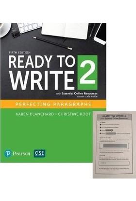 Pearson Yabancı Dil Akademik Kitaplar Ready To Write 2 + Access Code