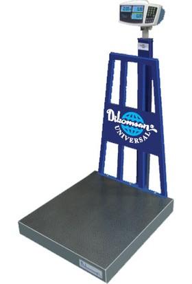 Di̇komsan Dc-M Sayıcı Baskül 600 kg x 20 gr 80 x 90 cm