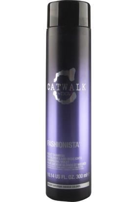 Tigi Bed Head Fashionista Sarı Saçlar ve Röfleler Için Renk Koruyucu Sülfatsız Mor Şampuan 300 ml