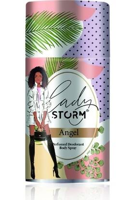 Lady Storm Angel 250 ml Kadın Deodorant