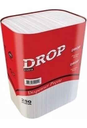 Drop Dispenser Peçete 250 Yaprak 18 Paket