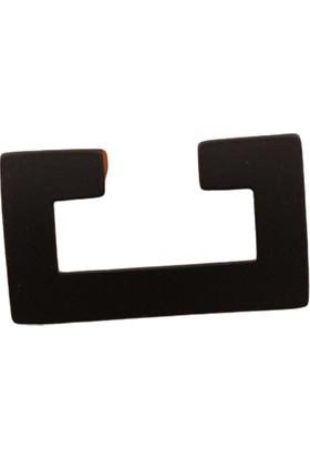 Azm Hırdavat Metax E Kulp 32 mm Mat Siyah