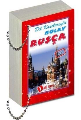 Dahi Adam Yayıncılık Rusça Dil Kartı