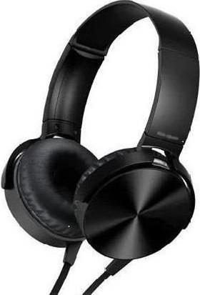 Mobitell Mdr Siyah Ekstra Bass Mikrofonlu Kulaküstü Kulaklık