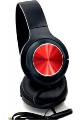 Mobitell Kırmızı JB10 Mikrofonlu Kulak Üstü Kulaklık 3.5mm Aux