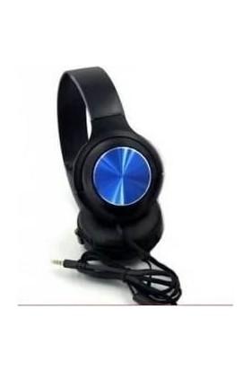 Mobitell Mavi JB10 Mikrofonlu Kulak Üstü Kulaklık 3.5mm Aux
