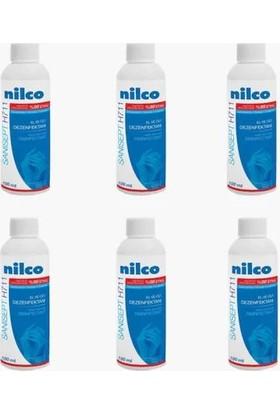 Nilco Sanisept El Dezenfektanı 100 ml x 6