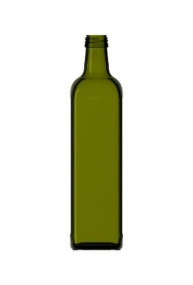 Şişecam 10 Adet Marasca 750CC Cam Şişe Kapaklı Şarap Yağ Şişesi Zeytin Yeşili 120575