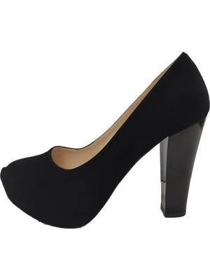 Aydemir 2041 Süet 30MM Platform Topuk Kadın Ayakkabı
