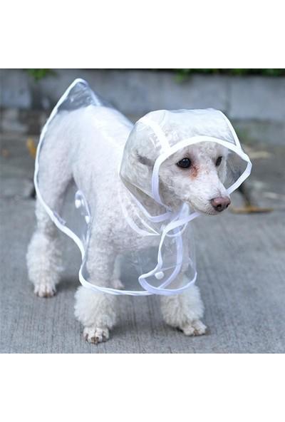 Piit Halat Köpek Yağmurluğu - Pembe - Small