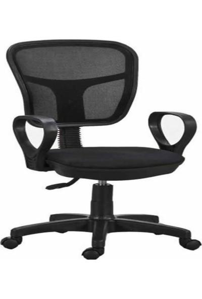 Bitirdin Kollu Fileli Personel Koltuğu Ofis Koltukları Bilgisayar Koltuğu Sekreter Sandalyesi