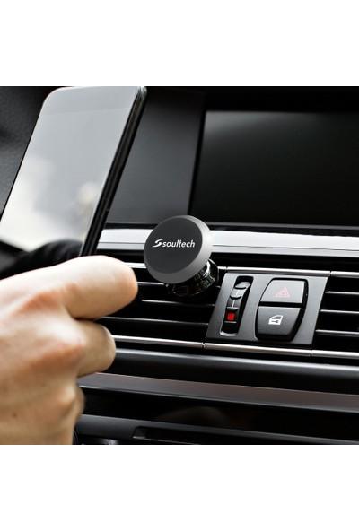Soultech Mıknatıslı Araç Telefon Tutucu Gümüş - OT002GR