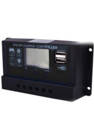 Spv 20 Amper 12V/24V Solar Şarj Kontrol Cihazı / Regülatör