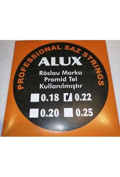 Alux 0,22 Röslau Pyramid Saz Teli (Divan Sazları İçin)