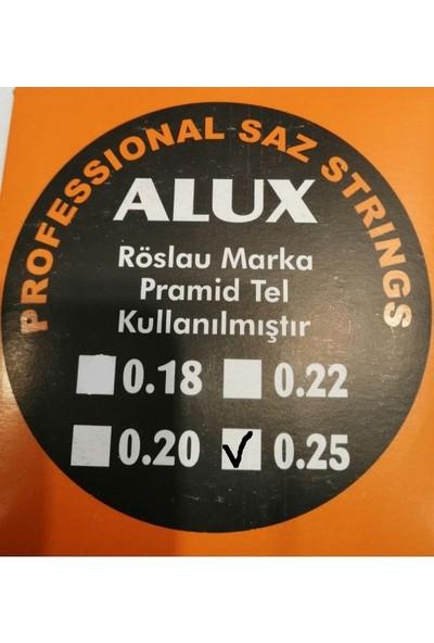Alux 0,25 Röslau Pyramid Saz Teli ( Divan Sazları İçin)