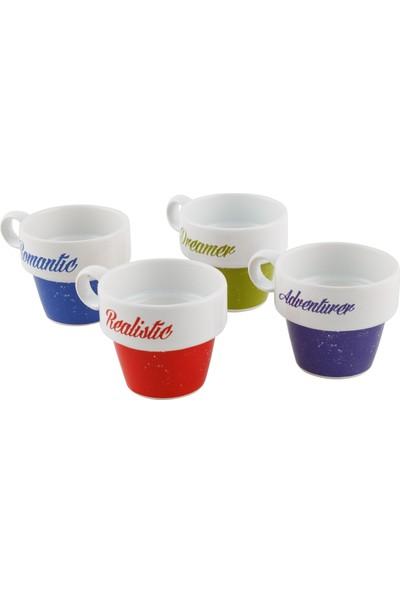 Mudo Concept Colorful Espresso Seti 4'Lü 105Ml