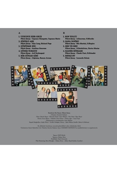 Ajda Pekkan - Superstar 83 - Renkli Plak