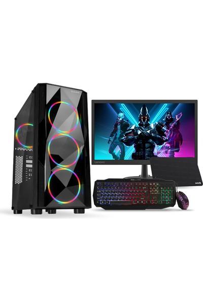 "Teknobiyotik 3500X-3M AMD Ryzen 5 3500X 16GB 480GB SSD GTX1660 Super FreeDos 21.5"" Masaüstü Bilgisayar (DK-PC-HB-3500X-3M)"