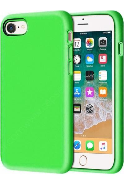 Rosstech Apple iPhone 6G - 6s Lansman Silikon Kılıf - Yeşil