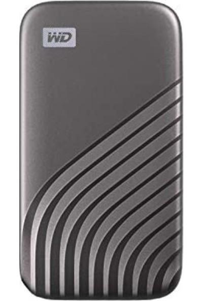 WD My Passport™ 2TB 1050MB-1000MB/s Taşınabilir SSD Space Gray