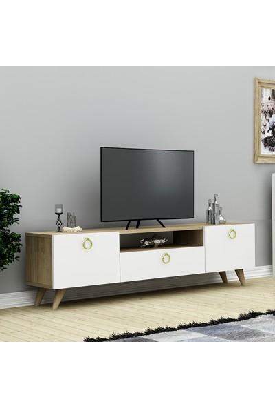 Nur Tv Ünitesi Safirmeşe\Beyaz