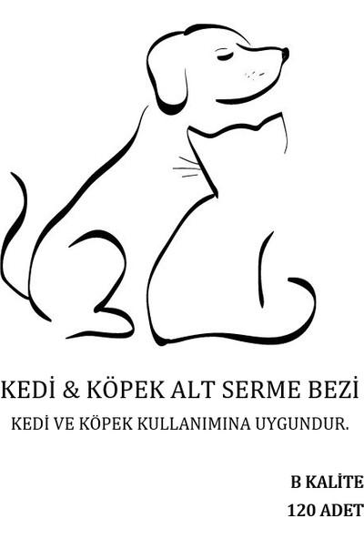 Ekonomik Kedi Köpek Çiş Pedi 60X60 120 Adet B Kalite
